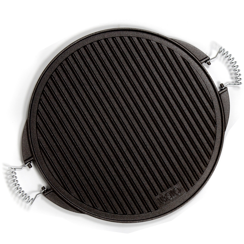 Plancha de hierro fundido para cocinar 53cm for Hierro fundido