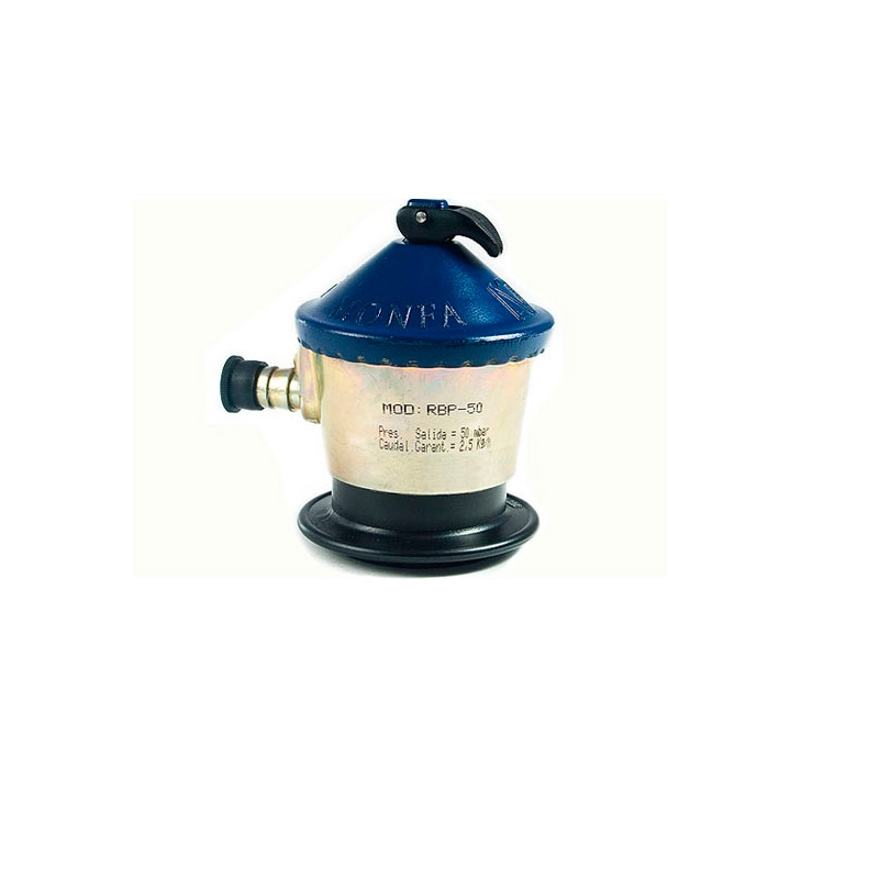 Reguladores de gas propano 50mbar - Regulador gas butano ...