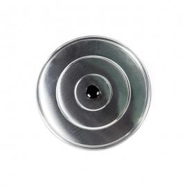 Tapa de aluminio lisa 28cm