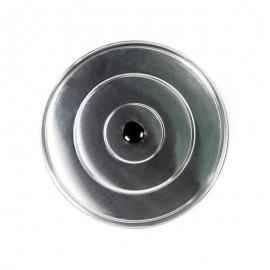 Tapa de aluminio lisa 32cm