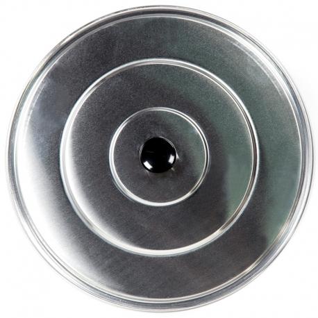 Tapa de aluminio lisa 40cm