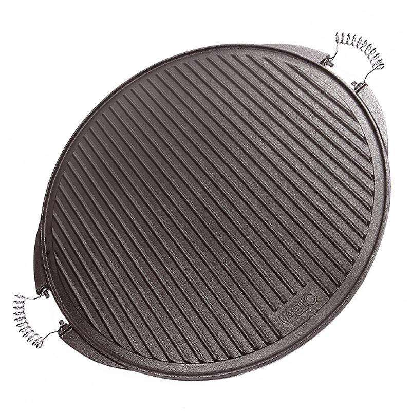 Planchas de asar carne de hierro fundido 65cm for Hierro fundido