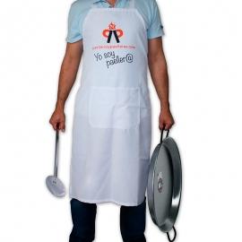 Delantal de cocina Blanco