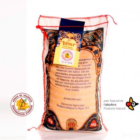 Arroz Bomba gourmet La Perla D. O. 1 Kg