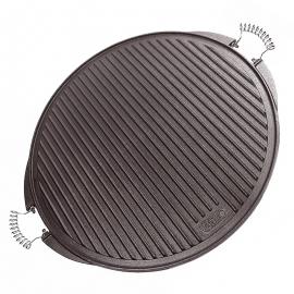 Planchas de asar carne sin grasa fabricadas en Hierro Fundido 65cm.