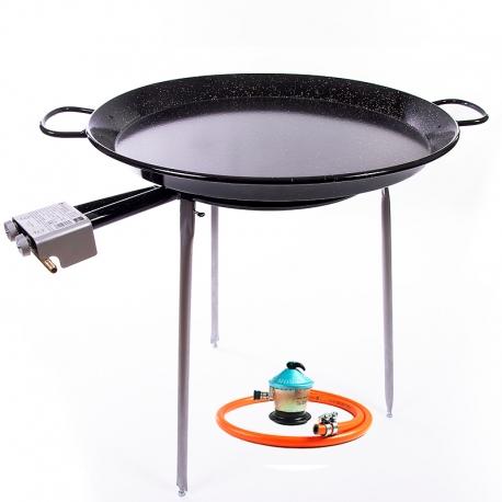 Kit Paella esmaltada 30 raciones + Gas