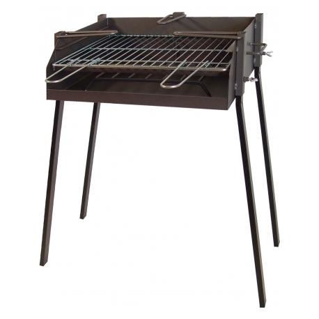 BBQ Rectangular para Paella 50x40x75cm