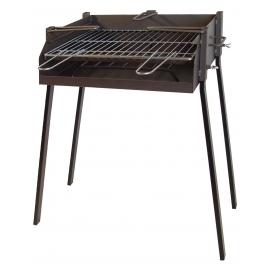 BBQ Rectangular para Paellas 60x40x75cm