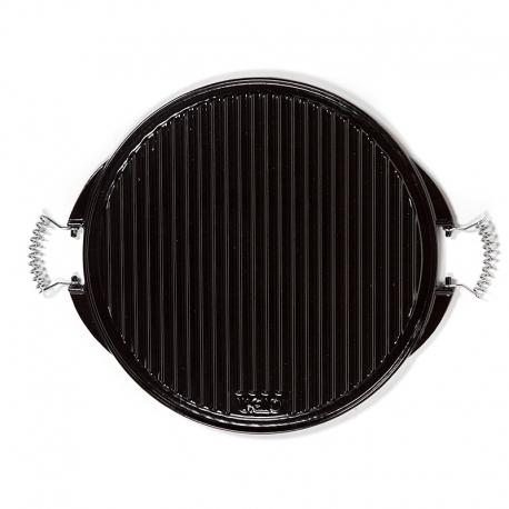 Plancha de hierro fundido esmaltado para barbacoas y cocina de 42 cm - Barbacoas hierro fundido ...
