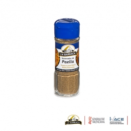 Sazonador para Paella 37g tarro de cristal. La Barraca.