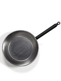 Sartenes de acero pulido