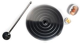 utensilios cocina mediterranea tapas espumaderas paellas